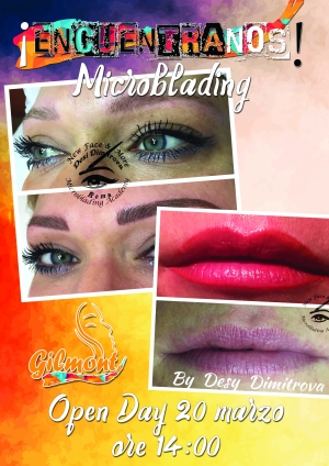 MICROBLADING OPEN DAY